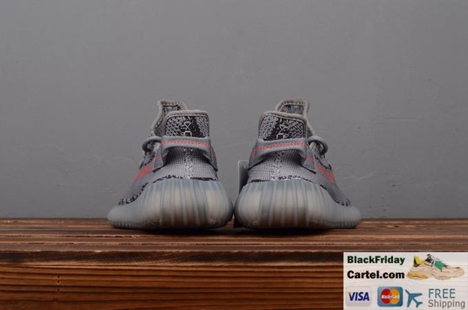 Adidas Yeezy Boost 350 V2 Grey Trainers Mens Original Size