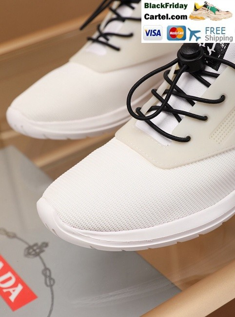 aabdaf41 High Quality Prada 2019 New Classic White Sports Men's Shoes