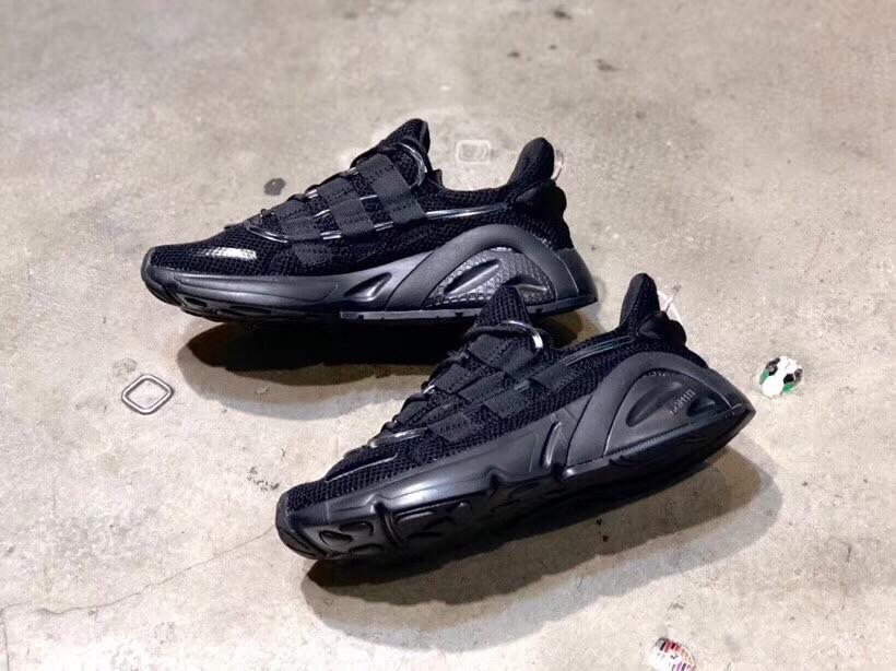 2d8d136d4486d 2018 New Replica Adidas Yeezy Boost 600 Black Stripe Shoes 1 1 Quality
