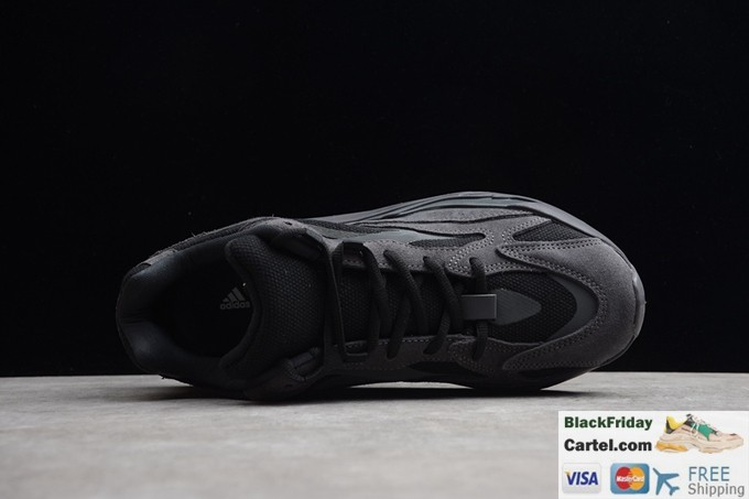 separation shoes 8c836 820c3 Kanye West × Adidas Yeezy Runner Boost 700 Retro Black Dad Shoes