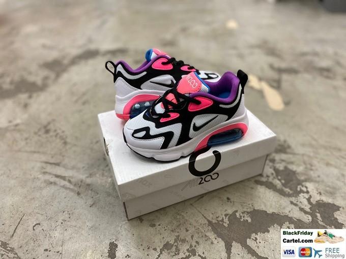 2019 New Nike Air Max 200 Childrens