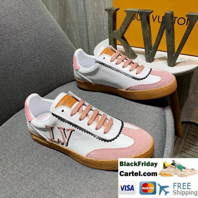 High Quality Louis Vuitton 2019 Men's Pink Casual Shoes