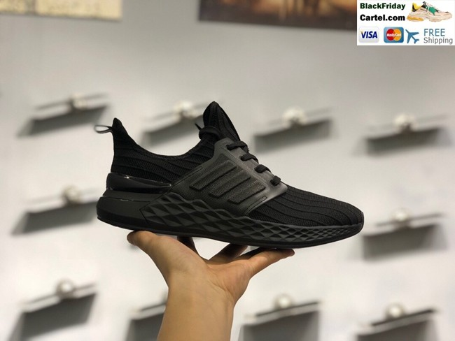 Hight Quality Adidas 5.0V2  Sports And Leisure Black Running Shoes