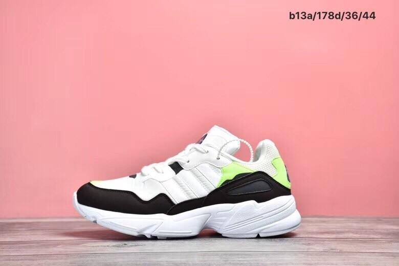 Adidas 96 Retro Daddy Black&White&Green Shoes