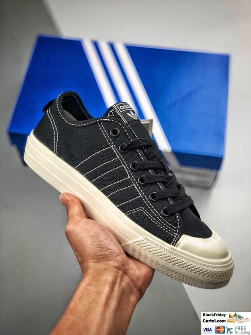 Adidas Nizza Low Rf in Black for Men