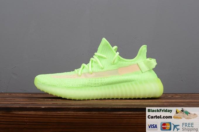 Adidas Yeezy Boost 350 V2 GID Fluorescent Green Trainer Mens