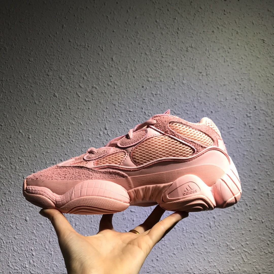 half off a3546 5a8c5 Adidas Yeezy Boost 500 Pink Shoes