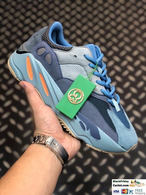Adidas Yeezy Boost 700 V2 Shoes Blue & Grey