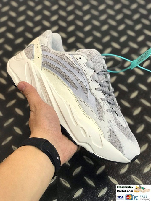 Adidas Yeezy Boost 700 V2 White & Grey Shoes For Sale