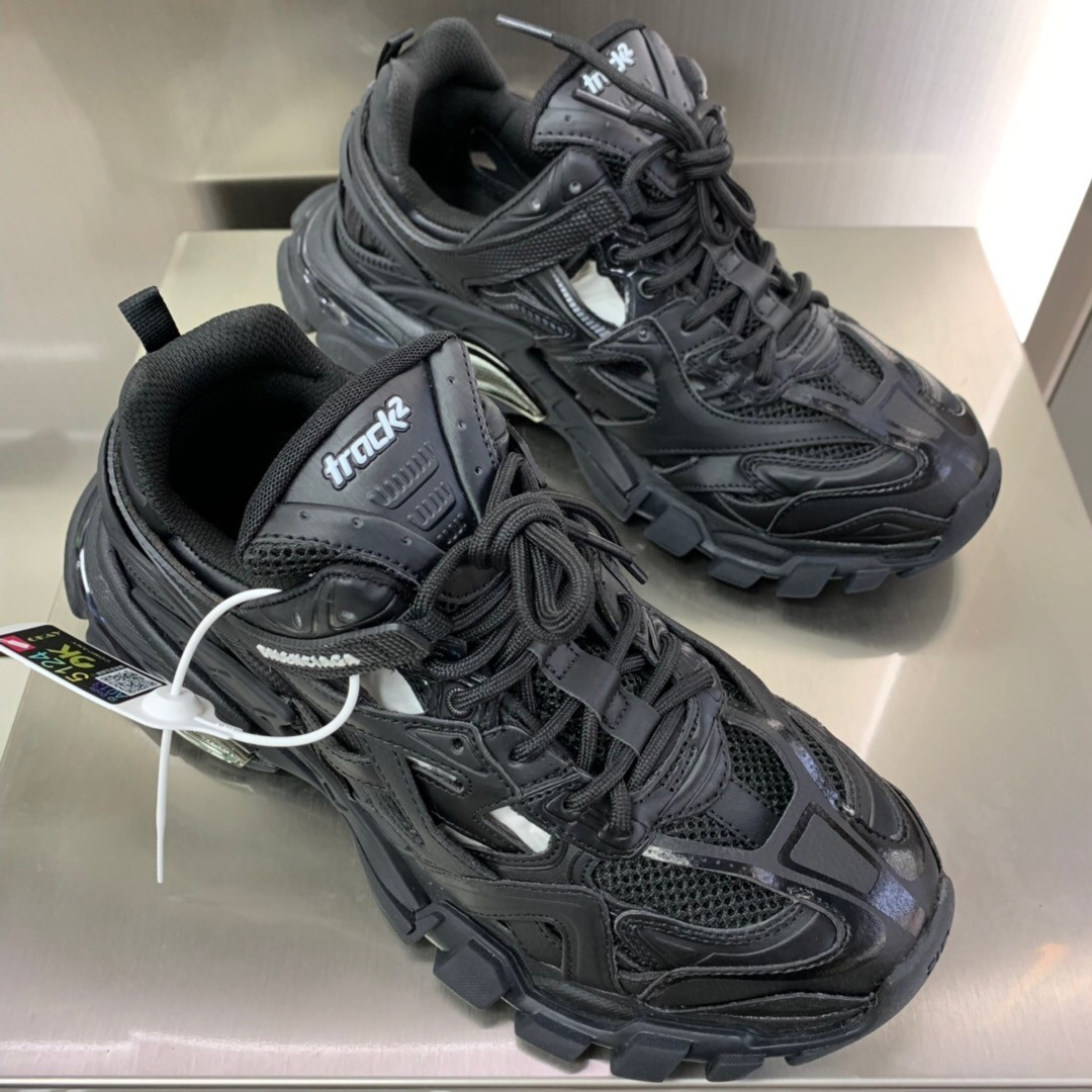 Balenciaga Track.2 Trainers Shoes Black
