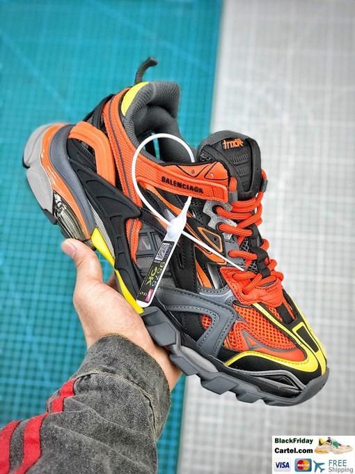 Balenciaga Herren Gelb Track Trainers 542023W1GB17184