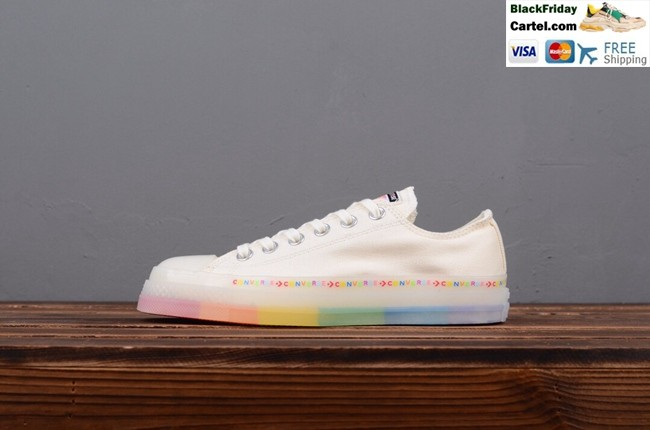 Converse Chuck All Star Color String Jelly Rainbow Low Cut Canvas