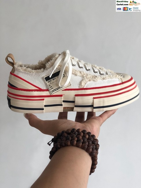 Converse New Star Net Red With The Same Paragraph Increased Canvas Shoes