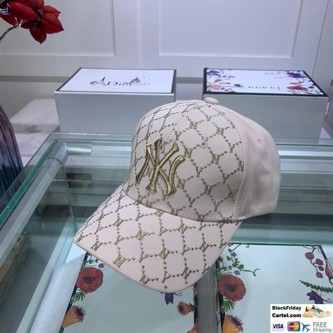 Cool MLB White Embroidered Baseball Cap