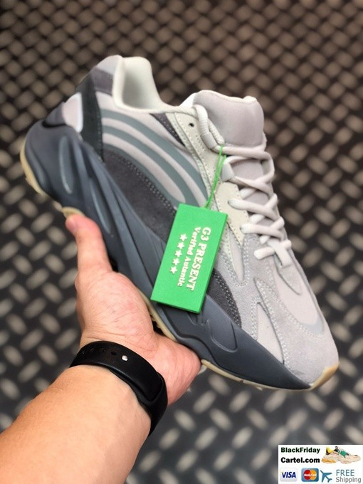 High Quality Adidas Yeezy Boost 700 V2 Grey & White Shoes
