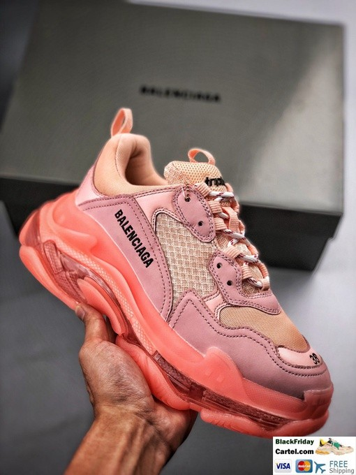 High Quality Balenciaga Triple S Sneakers Pink Online