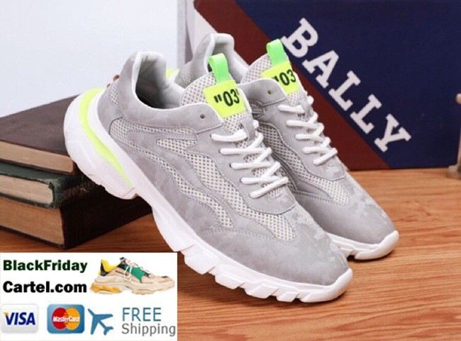 High Quality BALLY 2019 Summer New Men'S Gary Sneakers
