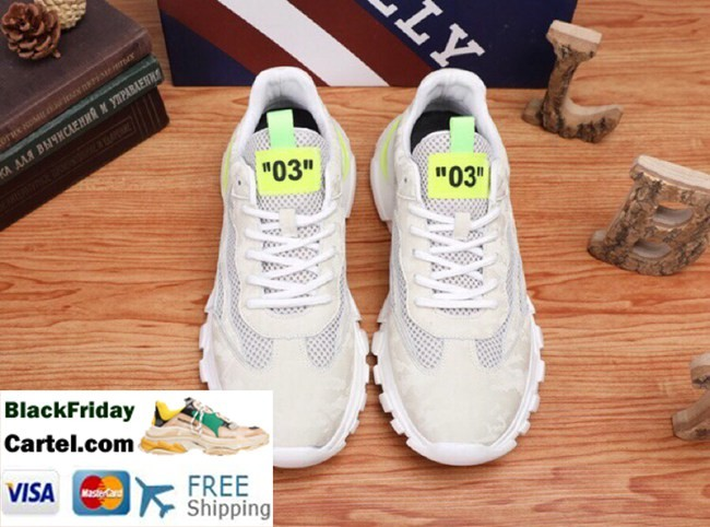 High Quality BALLY 2019 Summer New Men'S White Sneakers