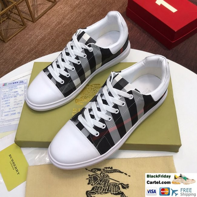 High Quality Burberry 2019 Explosion Models Black Casual Men's Shoes