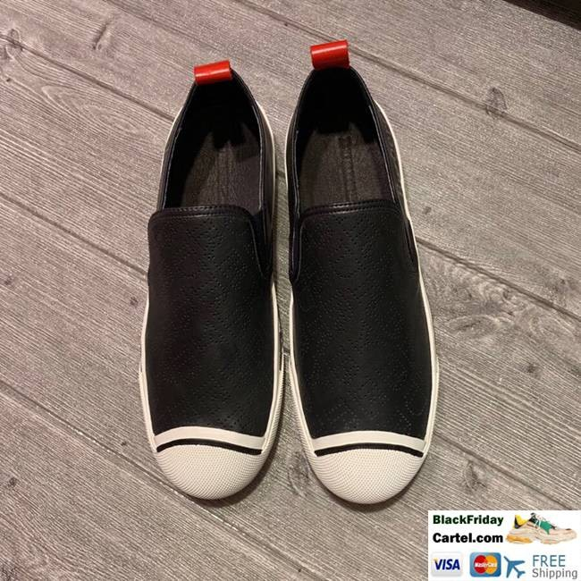 High Quality Burberry 2019 Explosion Models New Black Casual Men's Shoes