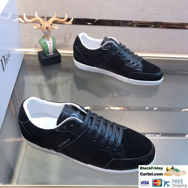 High Quality Dior 2019 New Explosion Black Casual Men's Shoes