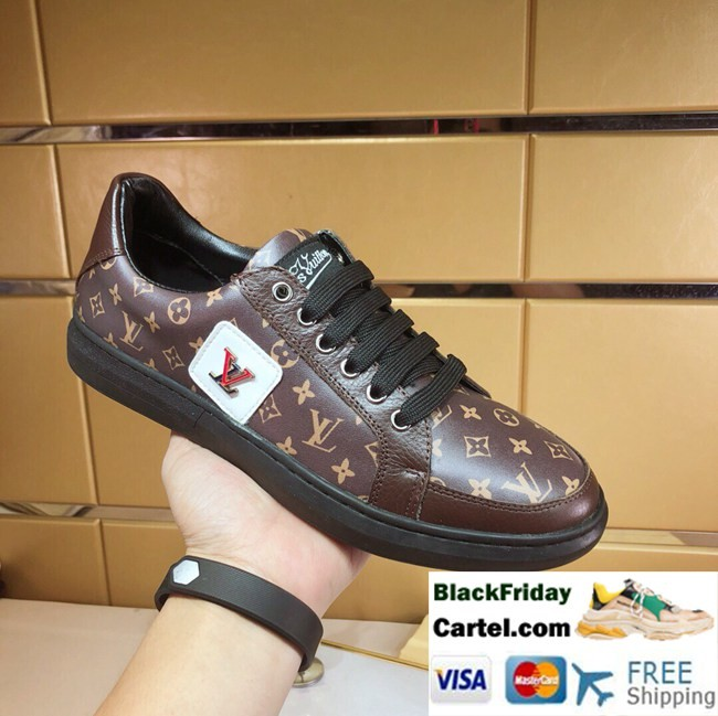 High Quality Louis Vuitton 2019 Explosion Models High-end Series Casual Shoes
