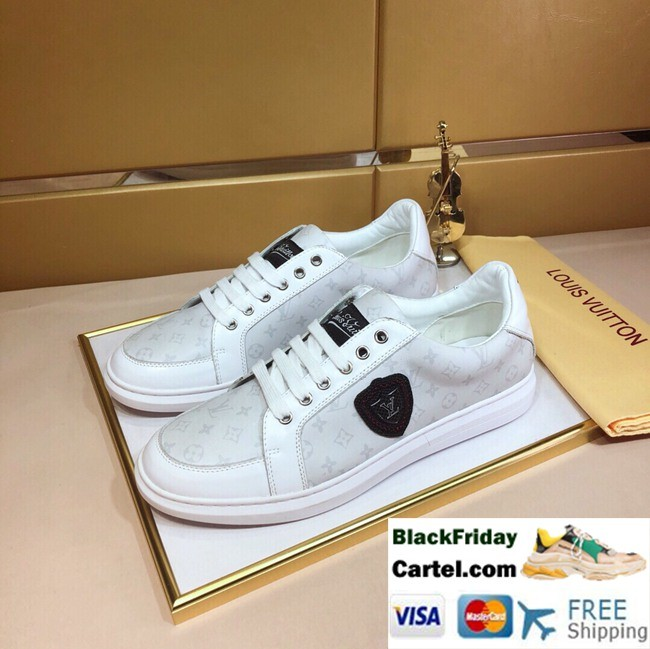 High Quality Louis Vuitton 2019 Explosion White Casual Shoes