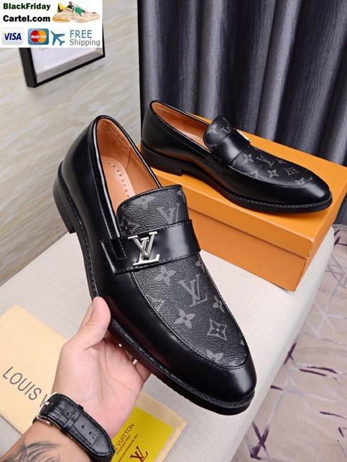 Louis Vuitton 2019 Men's Black Leather