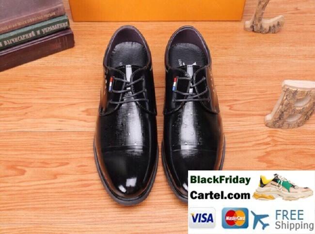High Quality Louis Vuitton 2019 New Men's Black Casual Shoes