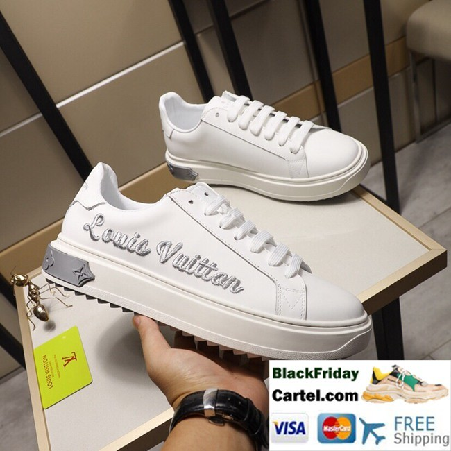 High Quality Louis Vuitton 2019 Spring Men's Grey Casual Shoes
