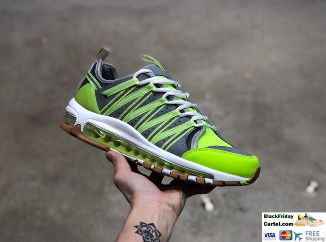 newest collection ec839 dfa85 CLOT x Nike Air Max 97 Haven AAA Green Casual Sports Shoes