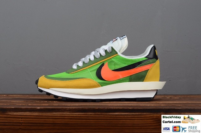 good looking best place 50% off High Quality Sacai x Nike LVD Waffle Daybreak Co-branded Running Shoes