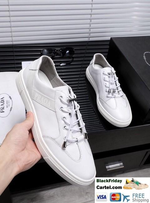 Prada 2019 White Fashion Leather Casual