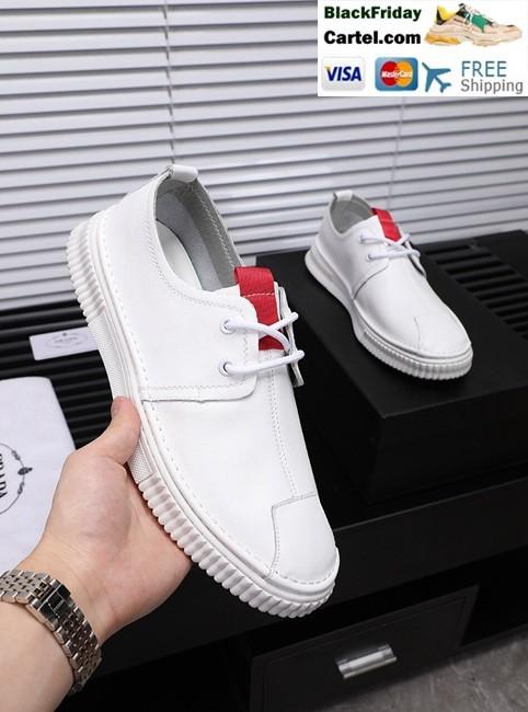c84b6496 High Quality Prada 2019 New White Casual Men's Shoes