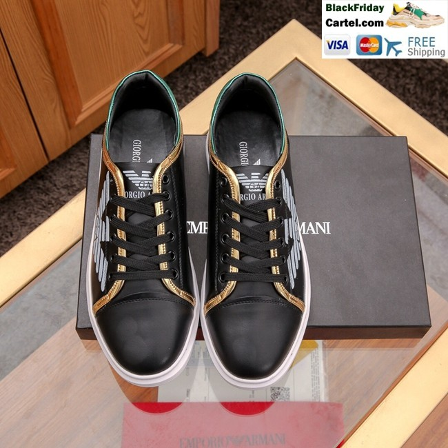 Hight Quality Amani 2019 New Men's Black Casual Shoes