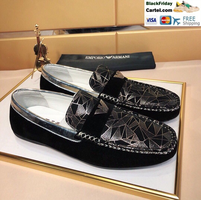 Hight Quality Amani 2019 New Men's Black Peas Shoes
