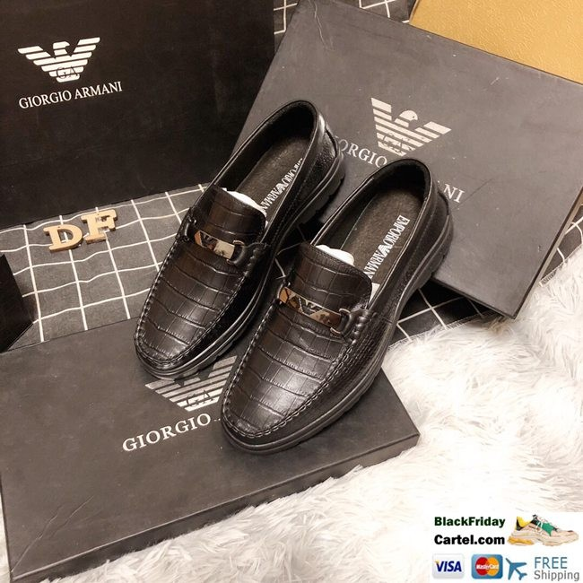 Hight Quality Amani 2019 New Men's Brown Leather Shoes