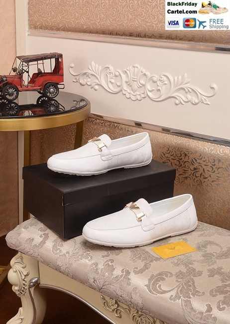 Hight Quality Amani 2019 New Men's White Peas Shoes