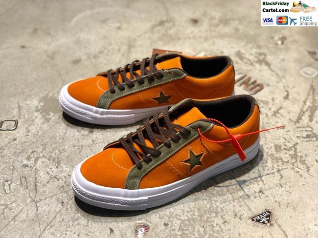 Hight Quality Converse One Star Kimura Series Color Matching Men's And Women's Shoes