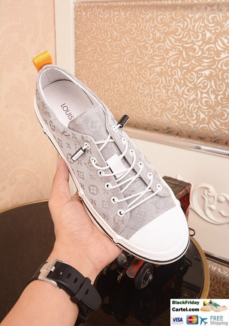 Hight Quality Louis Vuitton 2019 Men's White Casual Shoes