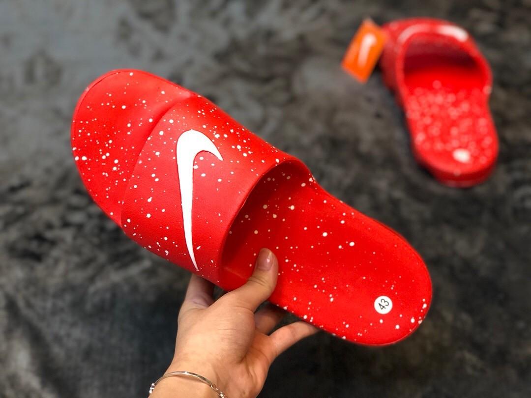 Nike Red Air Cushion Slippers