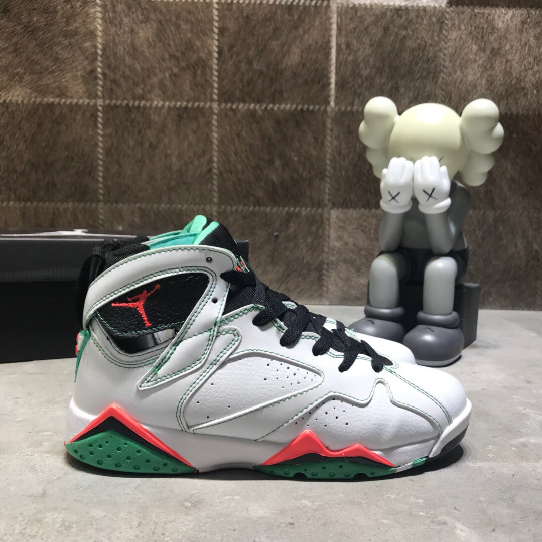 Air Jordan AJ 7 White&Green Shoes