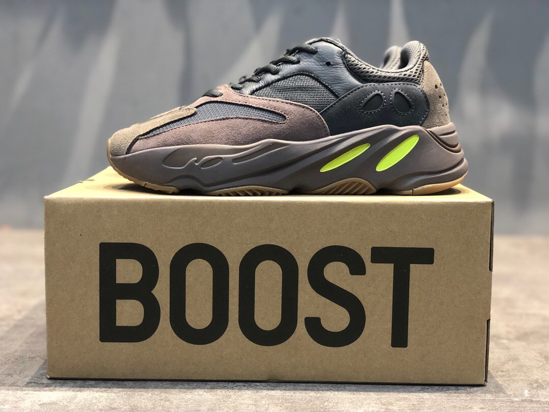 Yeezy Boost 700 Wave Runner Brown Dad Shoes