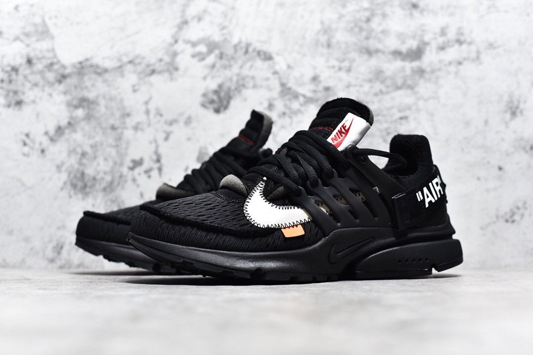 lowest discount good no sale tax Off-White X Nike Air Presto 联名系列 Black Shoes
