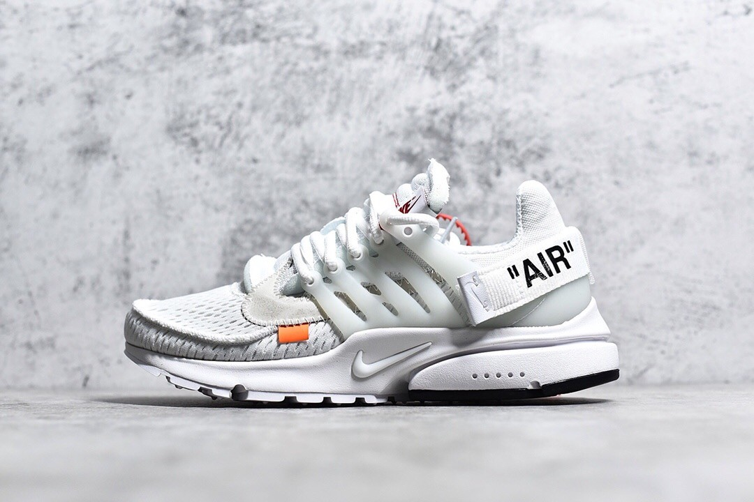 Off-White X Nike All White Presto Running Shoe