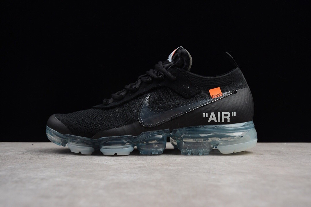 Off-White for NIKE Air Vapormax Black Running Shoe