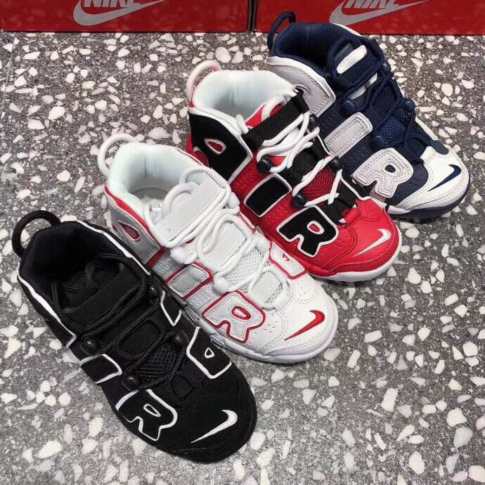 AJ Children Shoes Red/ White/ Black