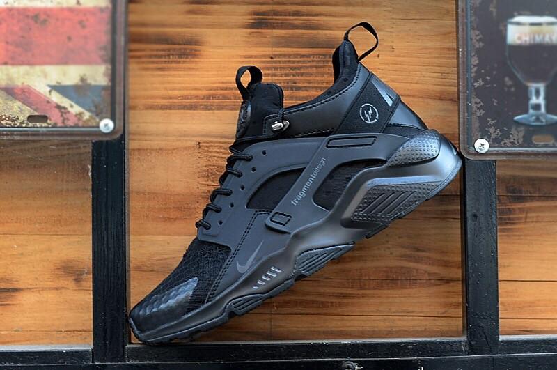 Nike Huarache City Low X LD-ZERO Black Shoes
