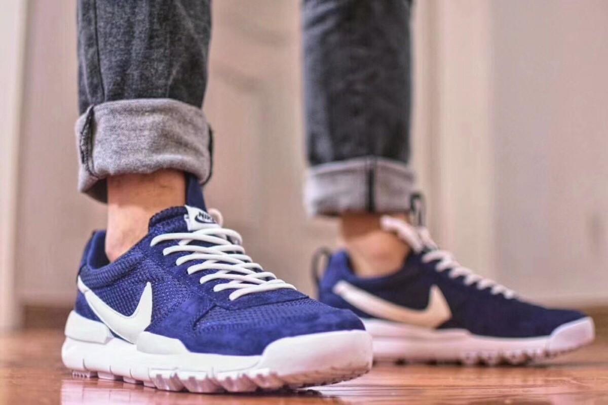 New 2018 Nike Craft Mars Yard TS Nasa 2.0 Blue Upper Vamp & White Logo Best Quality Shoes