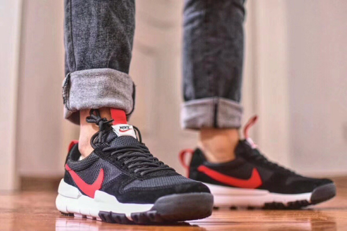 New 2018 Nike Craft Mars Yard TS Nasa 2.0 Black Upper Vamp & Red Logo Best Quality Shoes